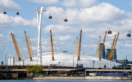 London's Coolest New Attractions: Emirates cable cars