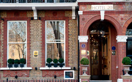 London's secret small hotels: Nevern Square
