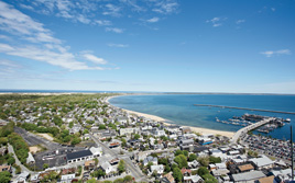 The View from Provincetown's Pilgrim Monument