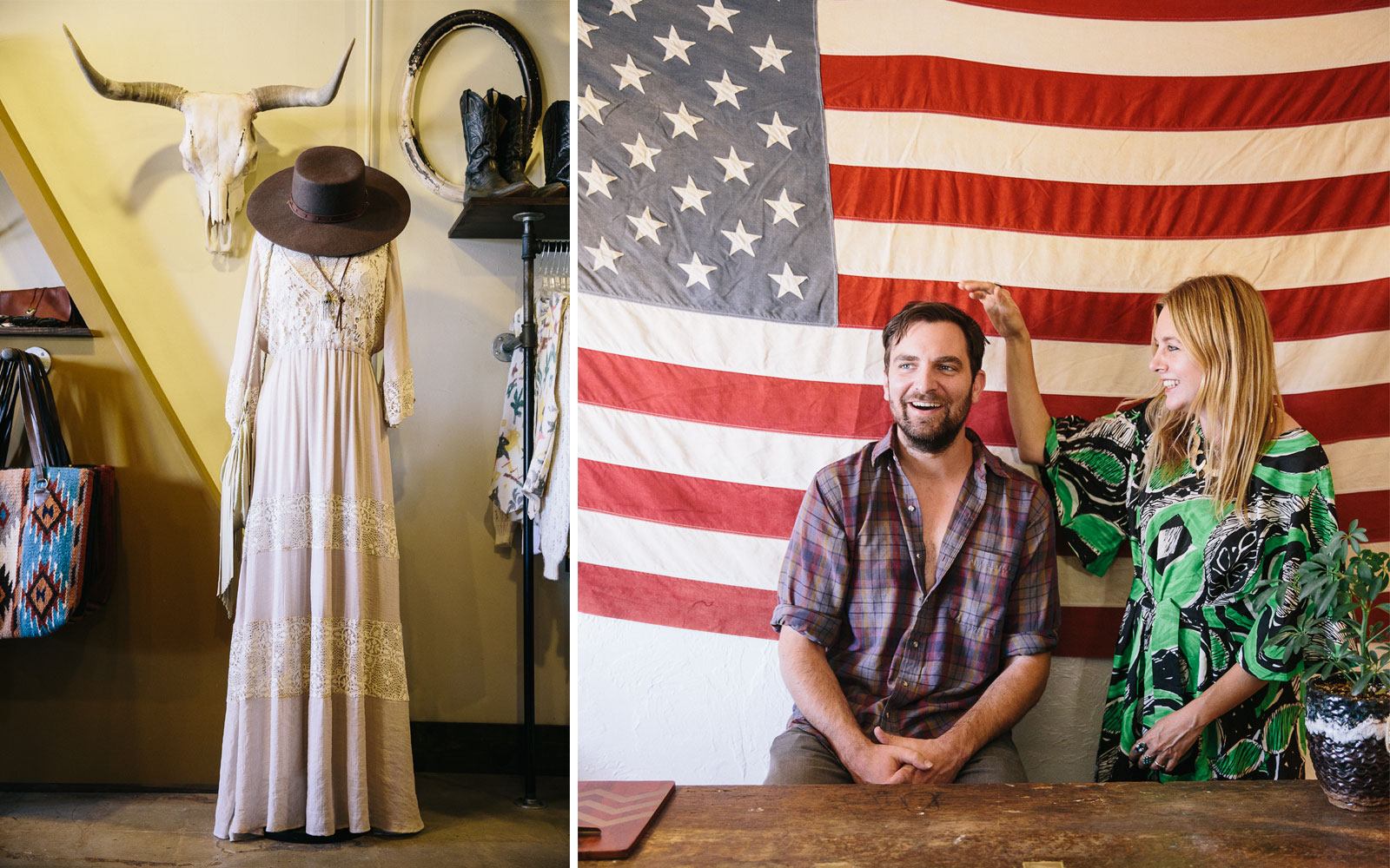 Yucca Valley Boutique and owners