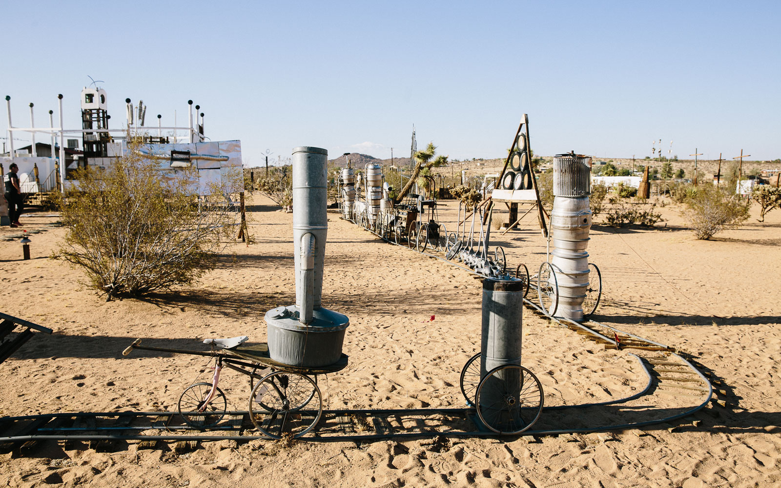 sculptures by Noah Purifoy