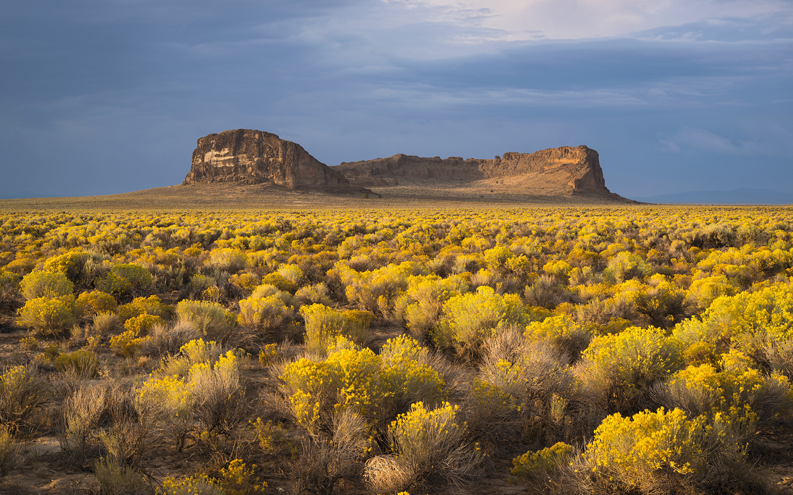 USA, Oregon, View of Fort Rock