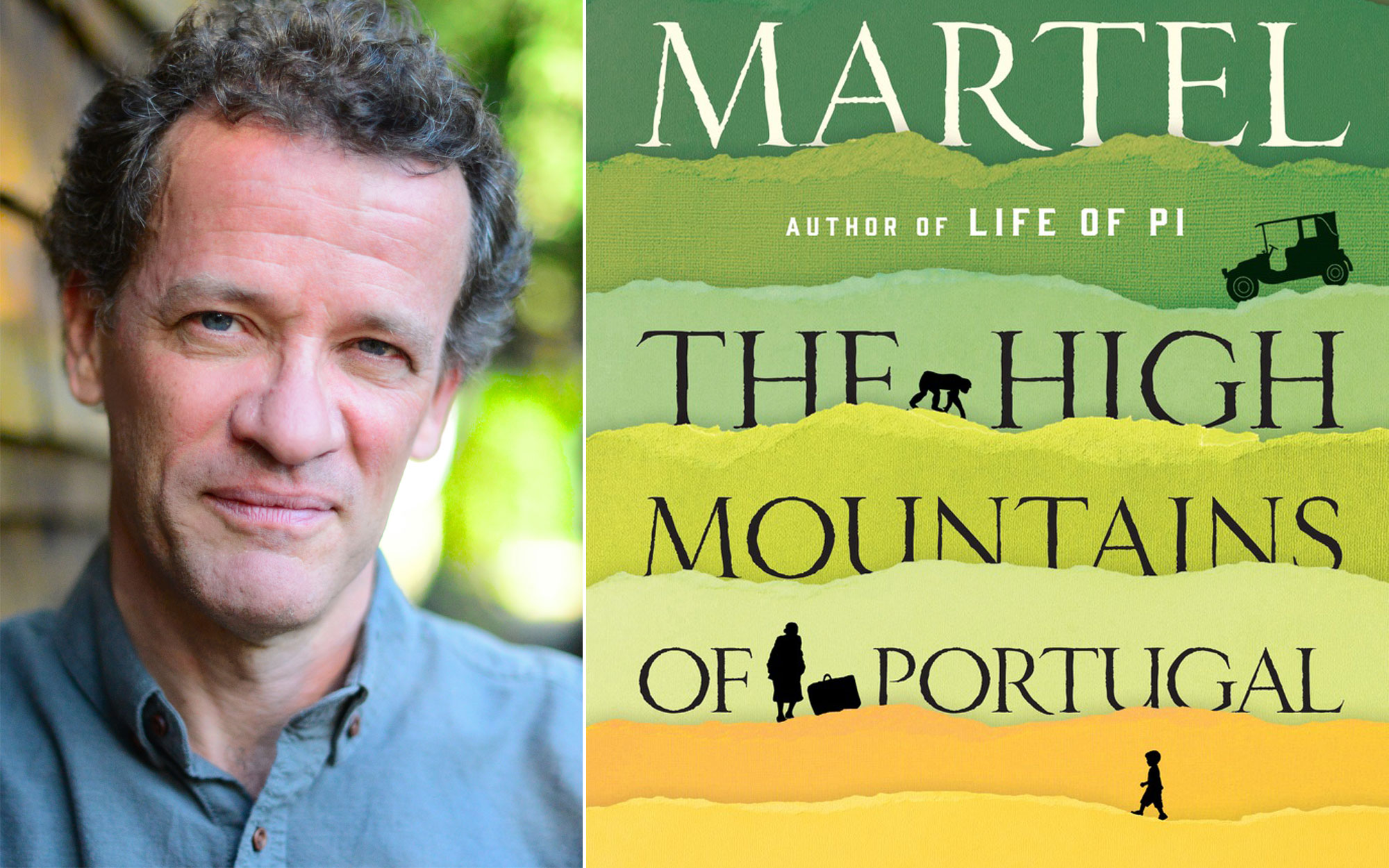 Yann Martel on The High Mountains of Portugal