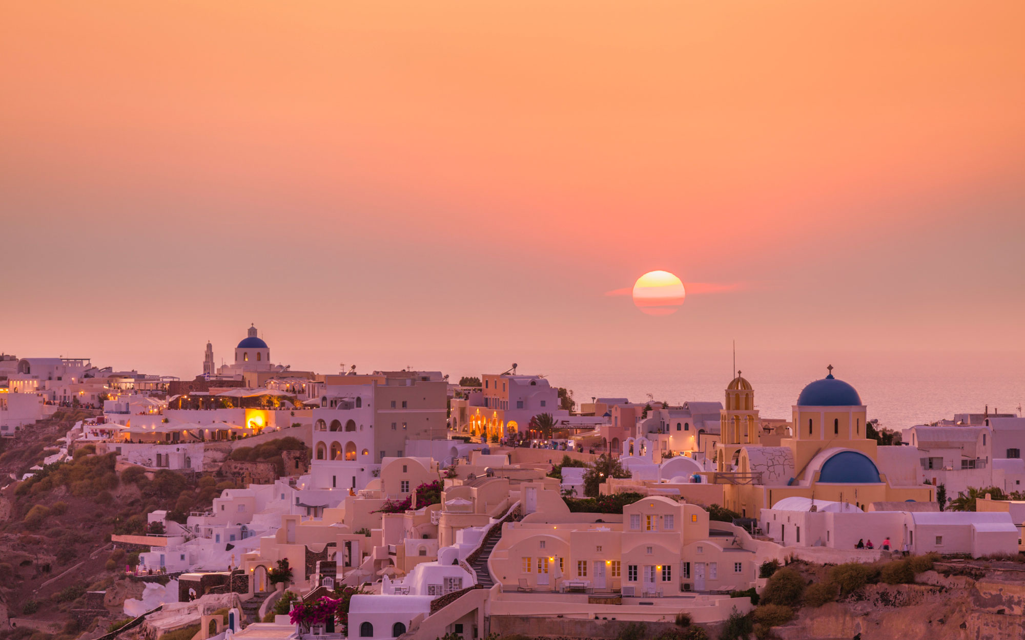 Watch The Sun Set Over Oia, Santorini