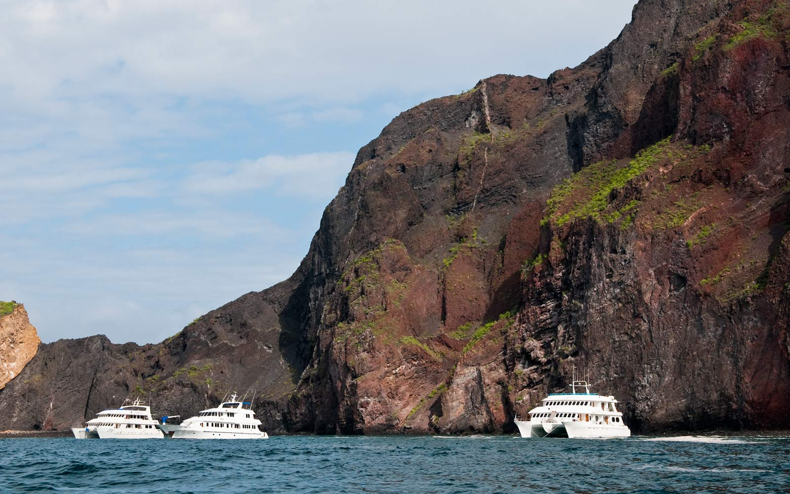 Cruise Ships, Galapagos Islands, Ecuador