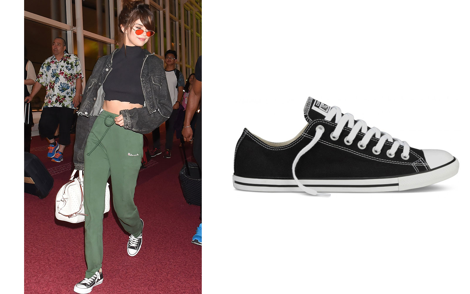 db74b8fb60ea The Stylish Comfy Shoes That Celebrities Wear for Traveling