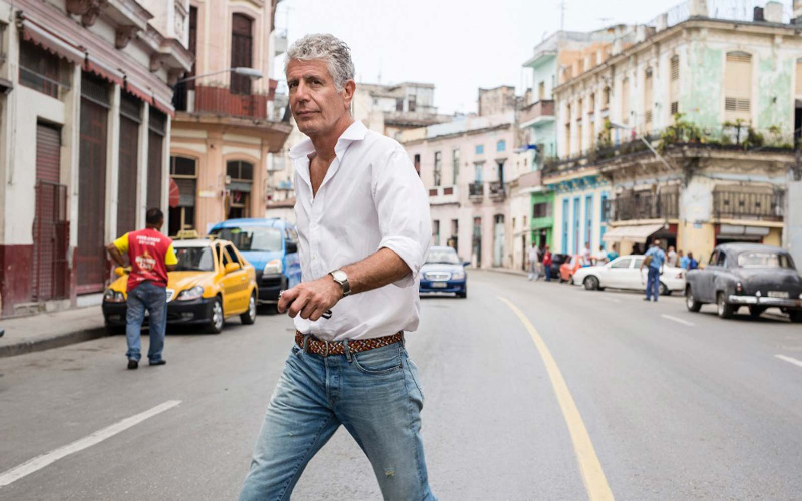 Anthony Bourdain Just Launched Travel Guides