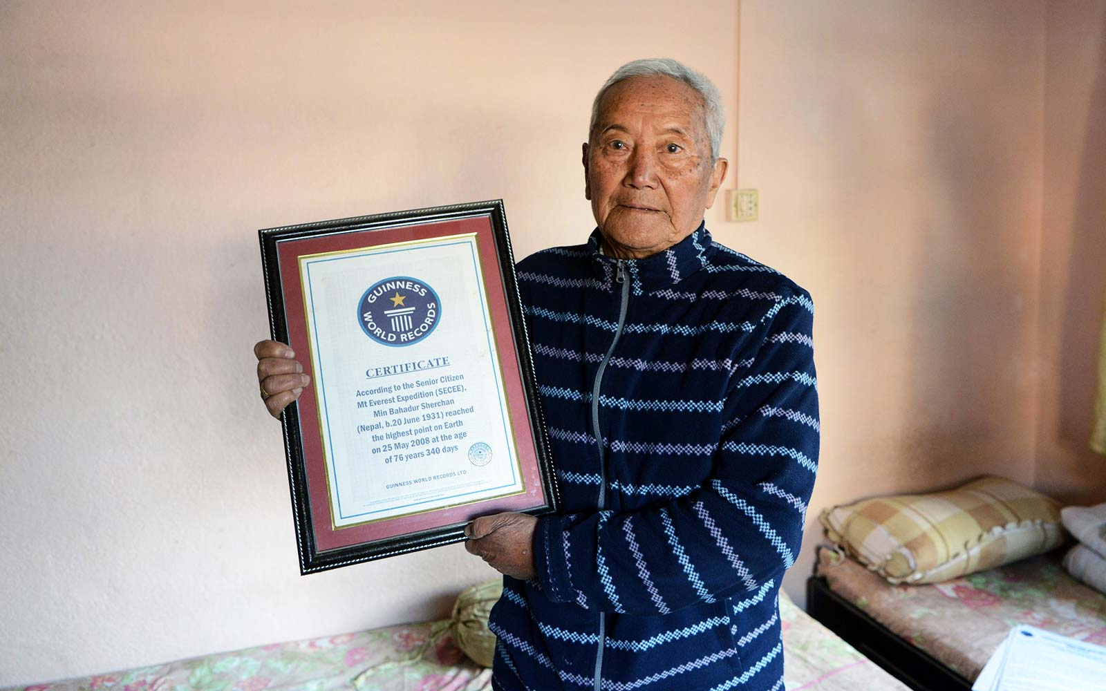85-year-old dies while attempting to reclaim record as oldest climber of Mount Everest