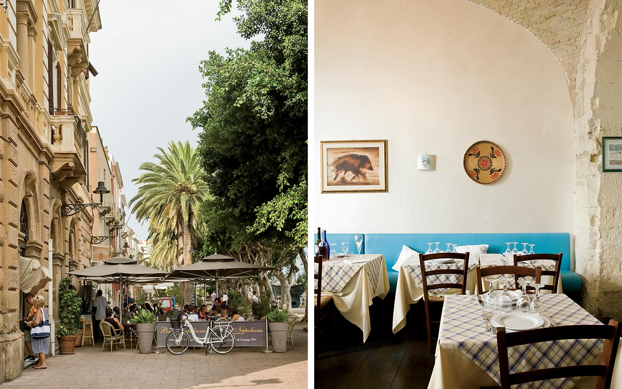 Sardinia Dining and Towns