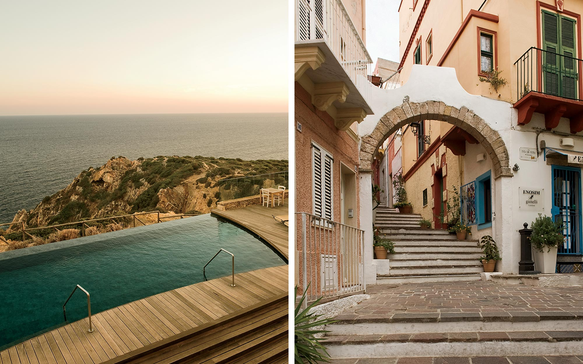 Sardinia Hotels and Towns