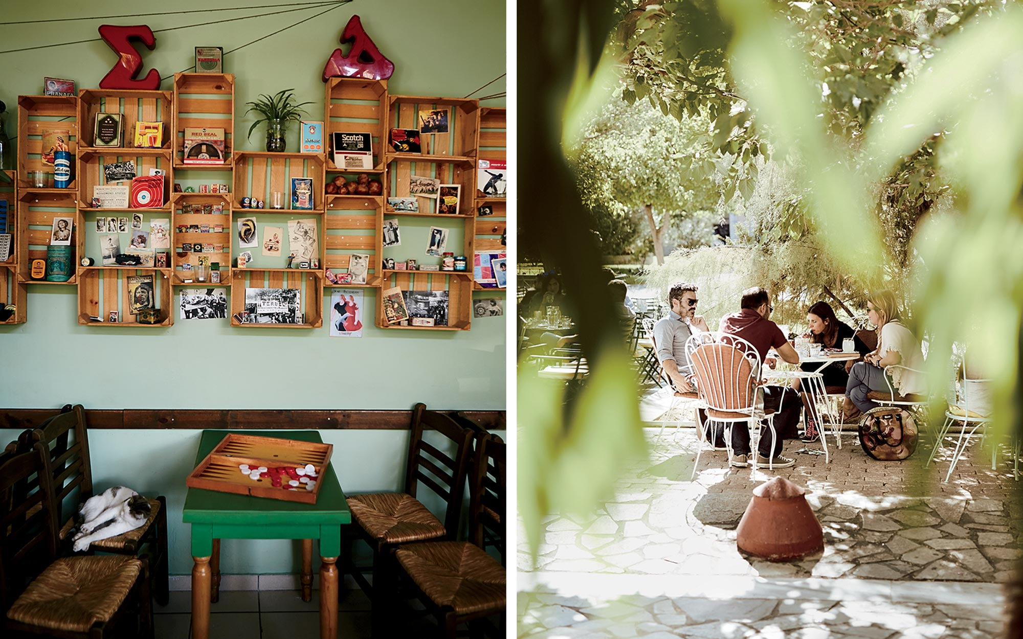 Athens Greece Alternative Cafes