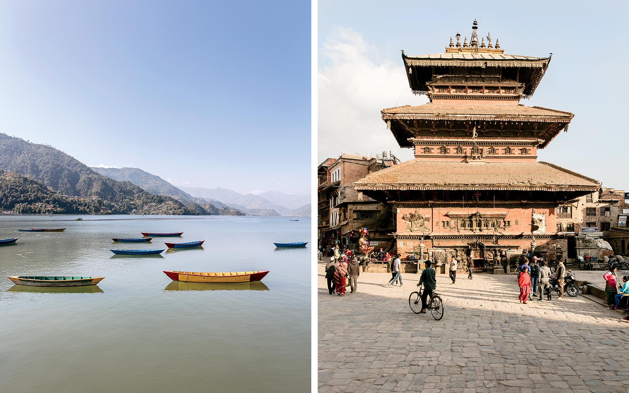 Nepalese Temples and Lakes