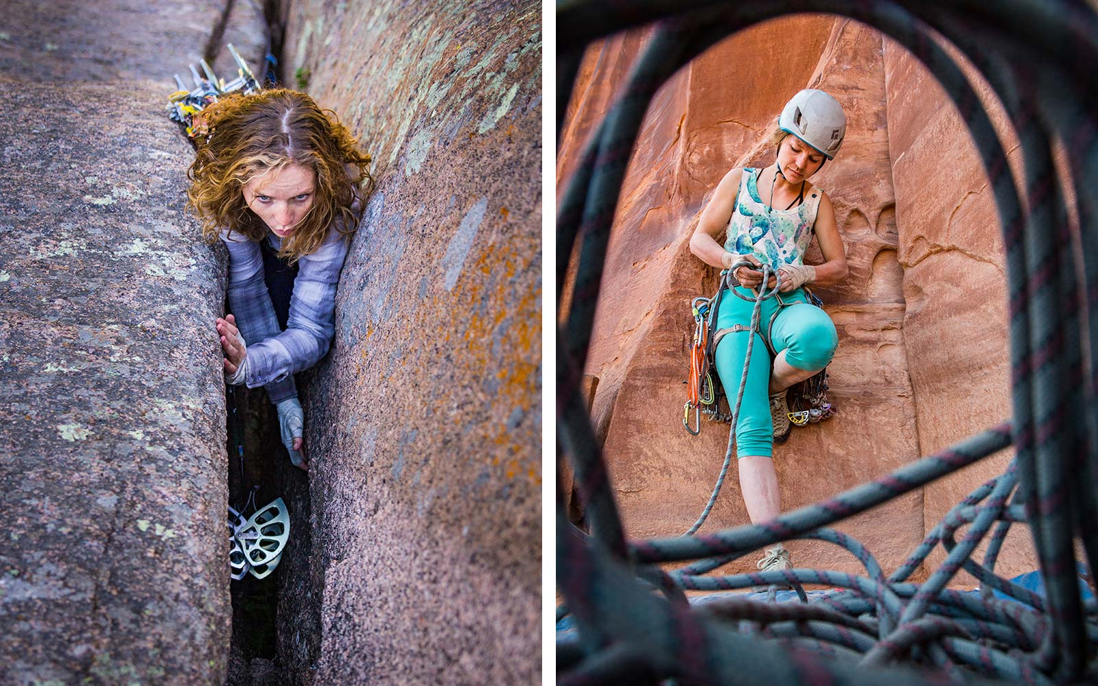 Mary Eden Rock Climber
