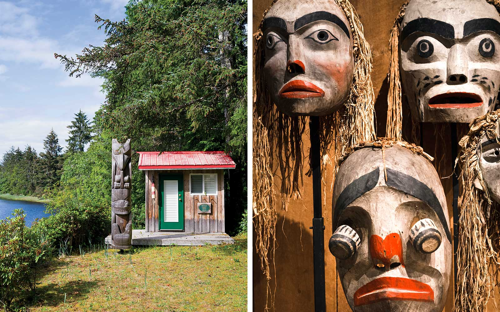Totems and Masks of British Columbia