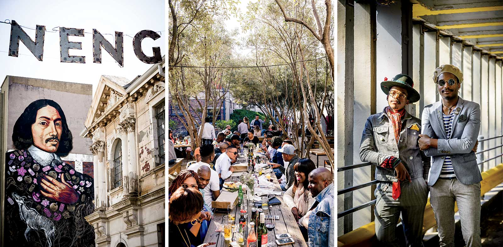 Cosmopolitan Hotel, Market on Main, and Dig Inn chefs in Johannesburg, South Africa