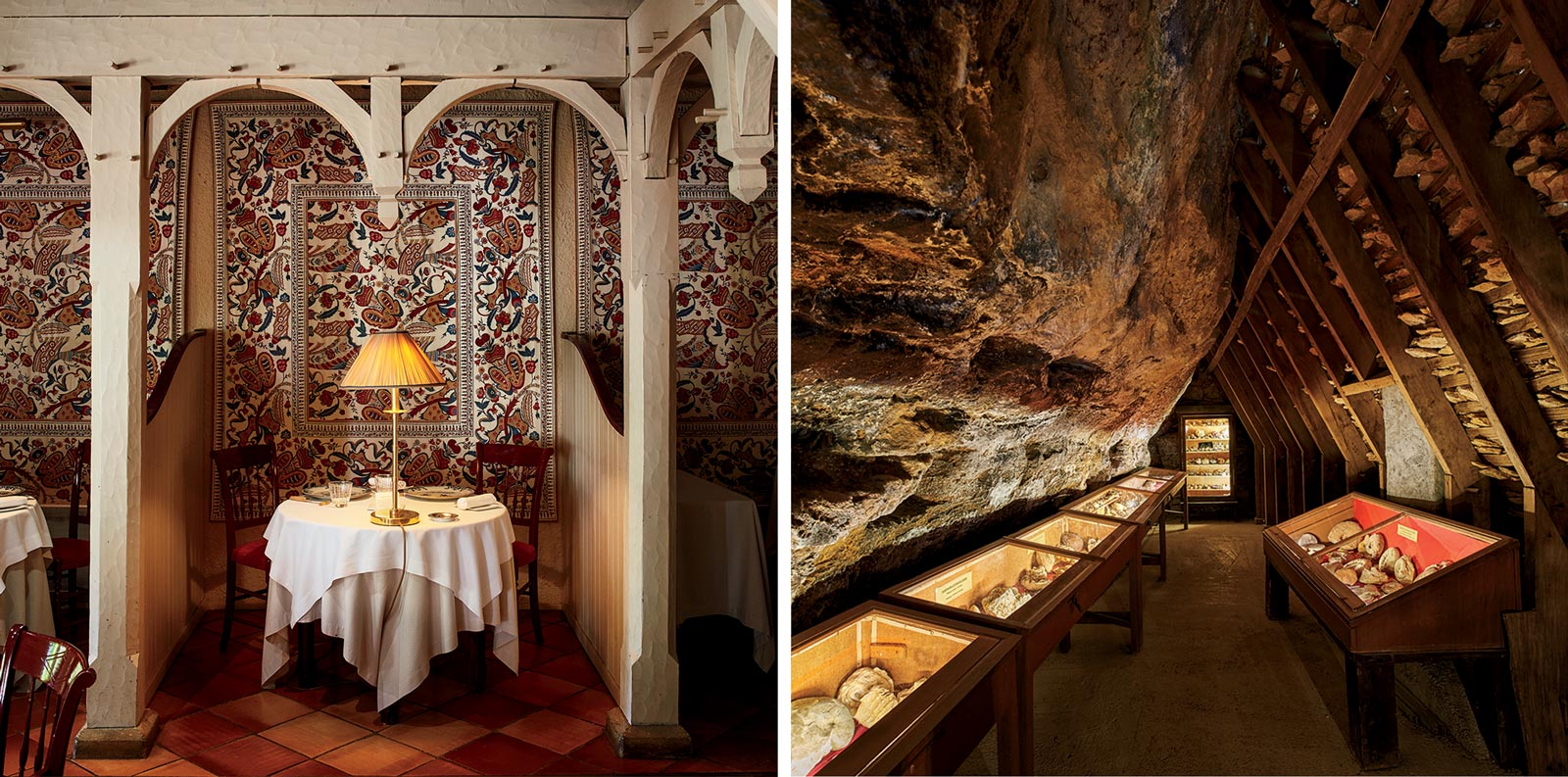 Restaurants and cave visits in Dordogne, France