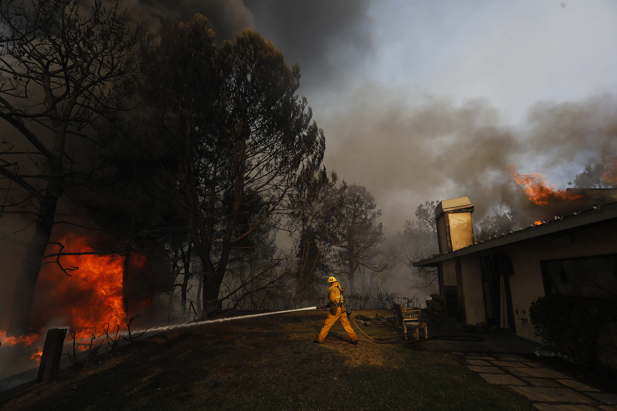 Celebs Forced to Flee the Los Angeles Wildfire