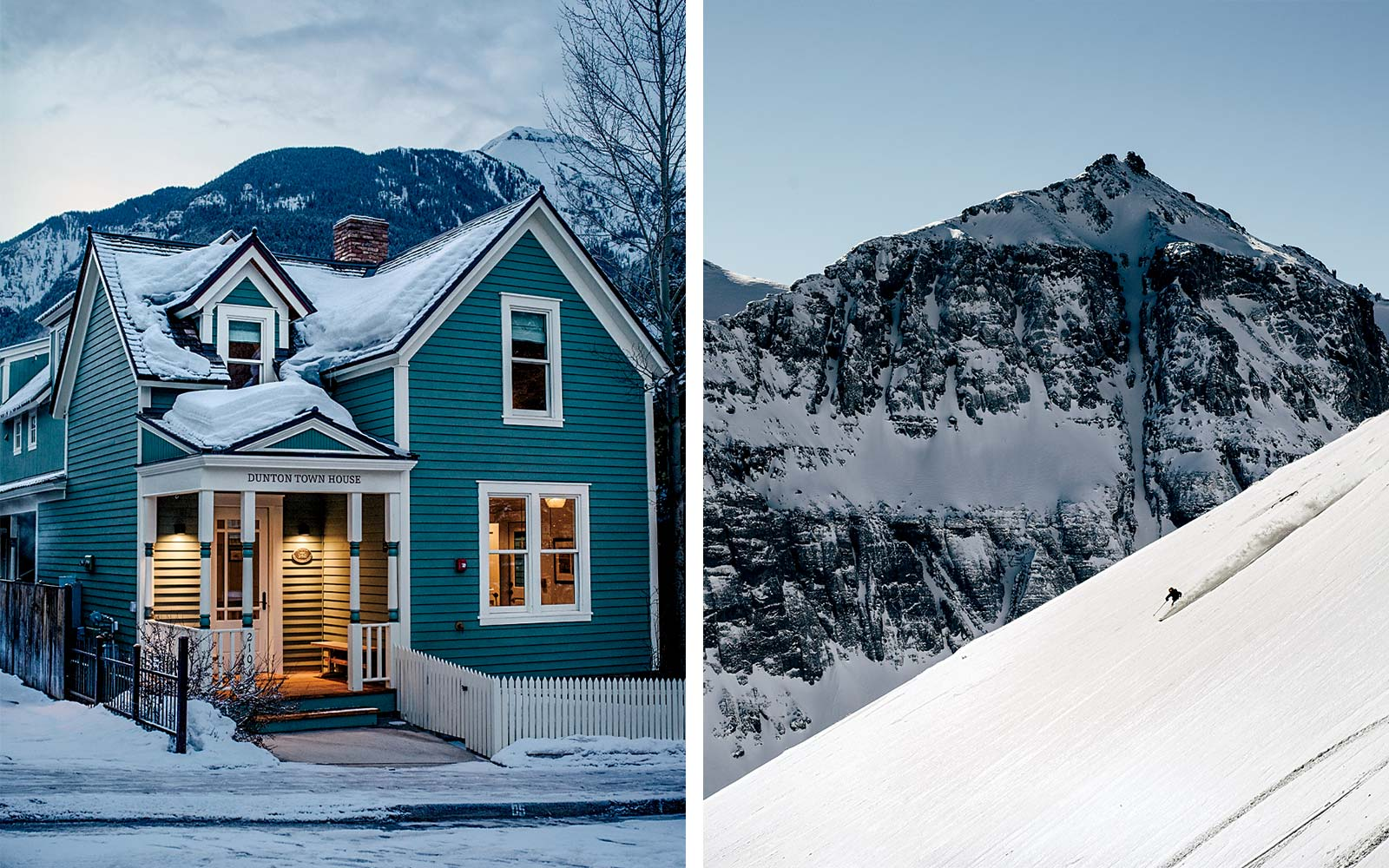 Accommodations and skiing in Telluride, Colorado