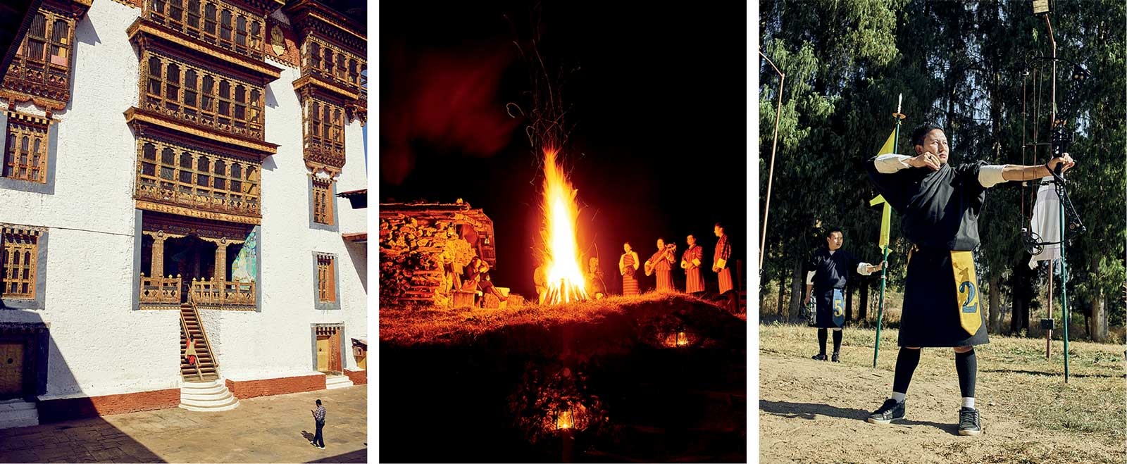 Popular tourist attractions in Bhutan