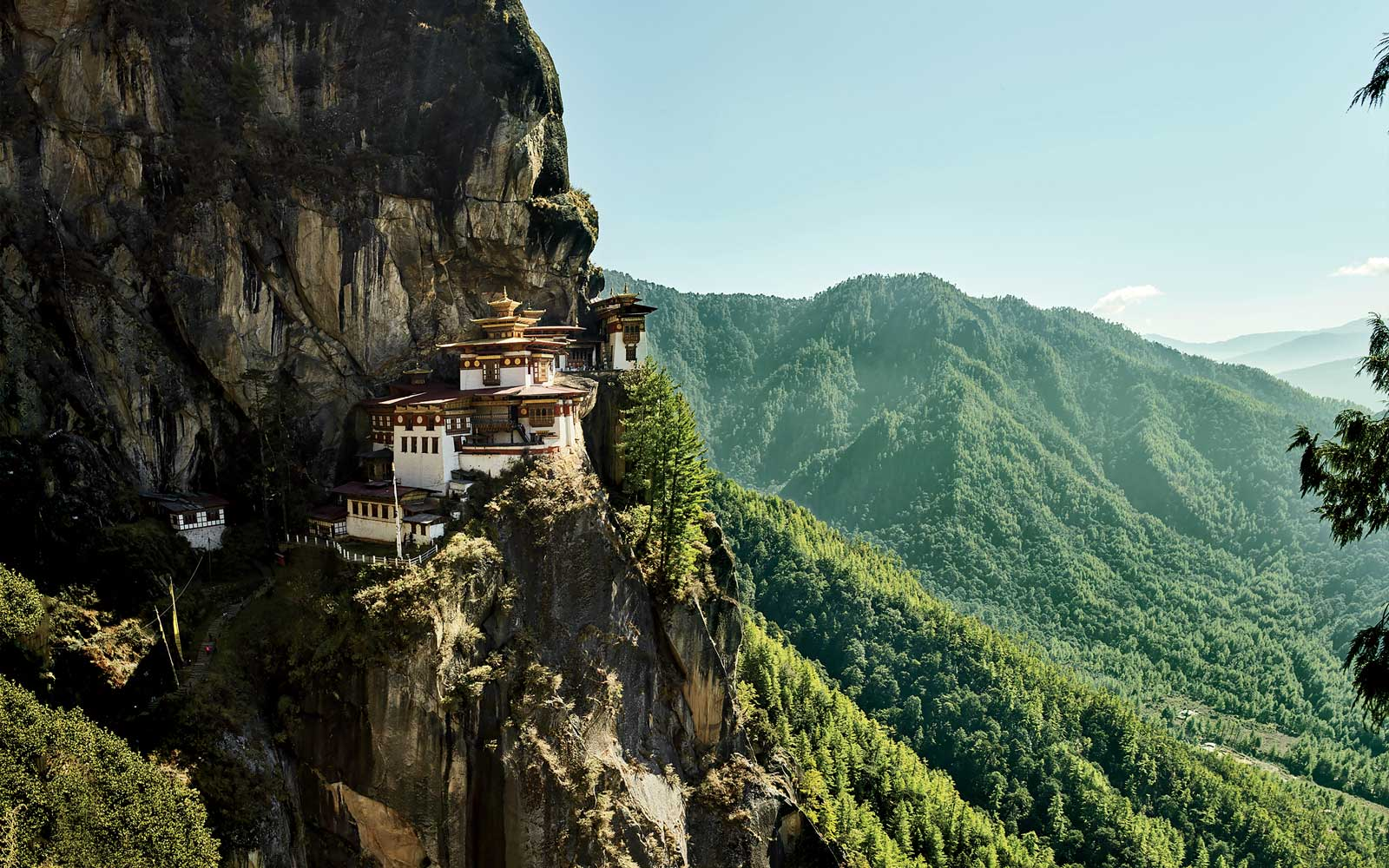 Tiger's Nest Temple, in Bhutan
