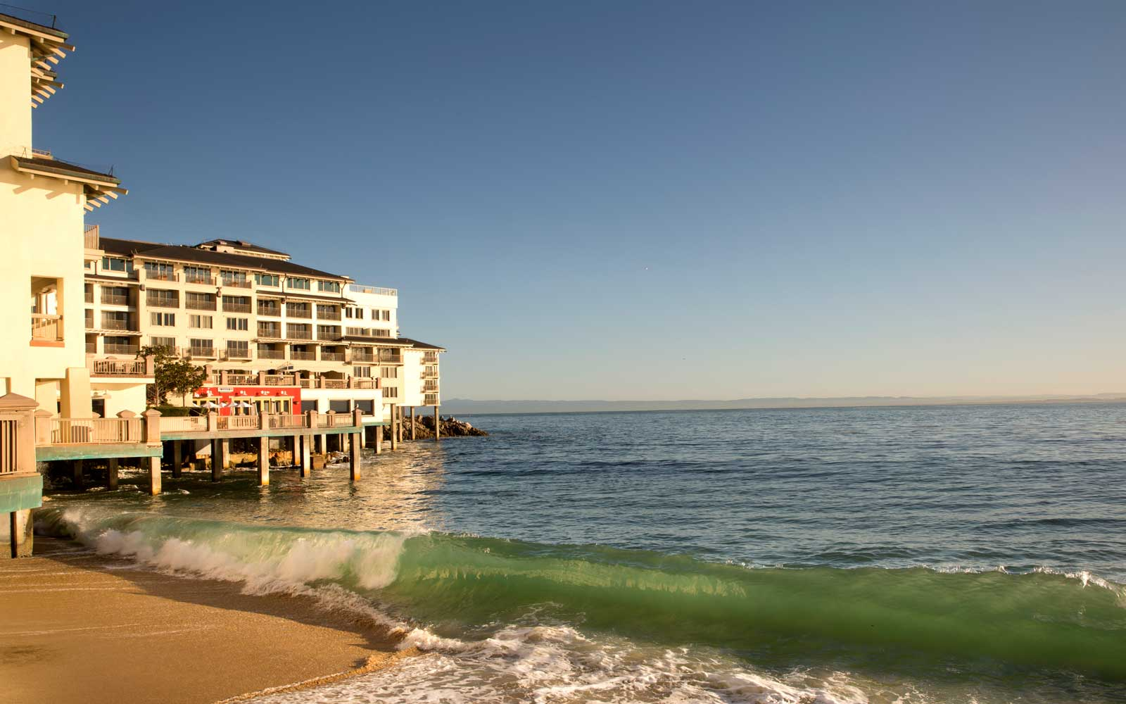 Experience Monterey Bay at This Historic Hotel Overlooking the Surf
