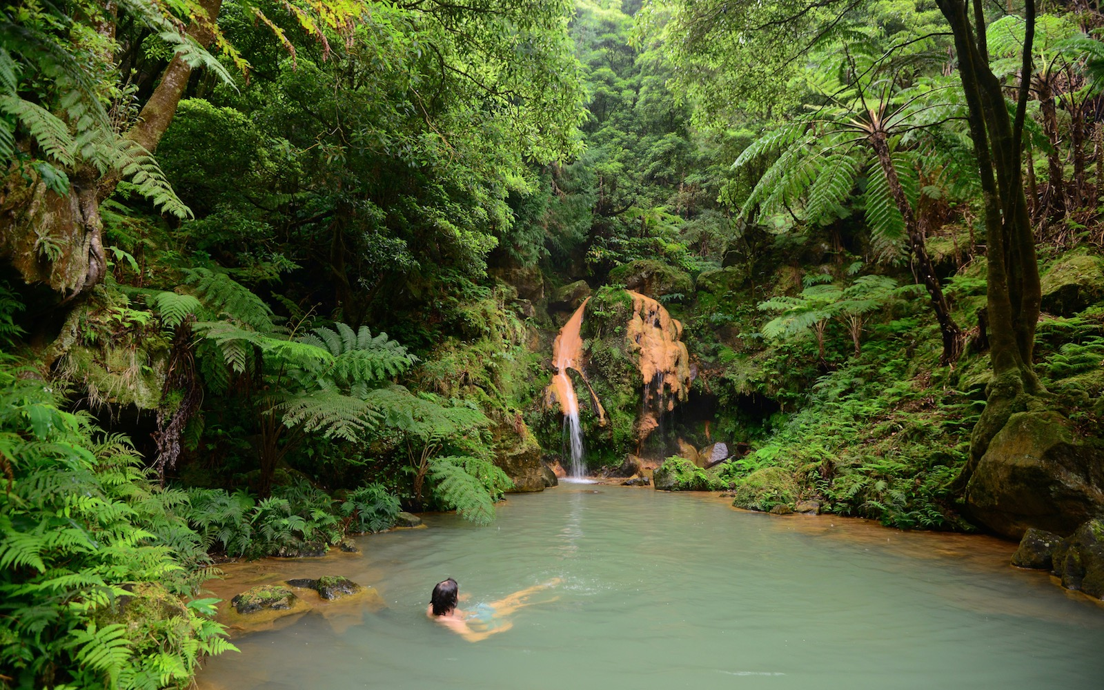 hot spring in the Azores