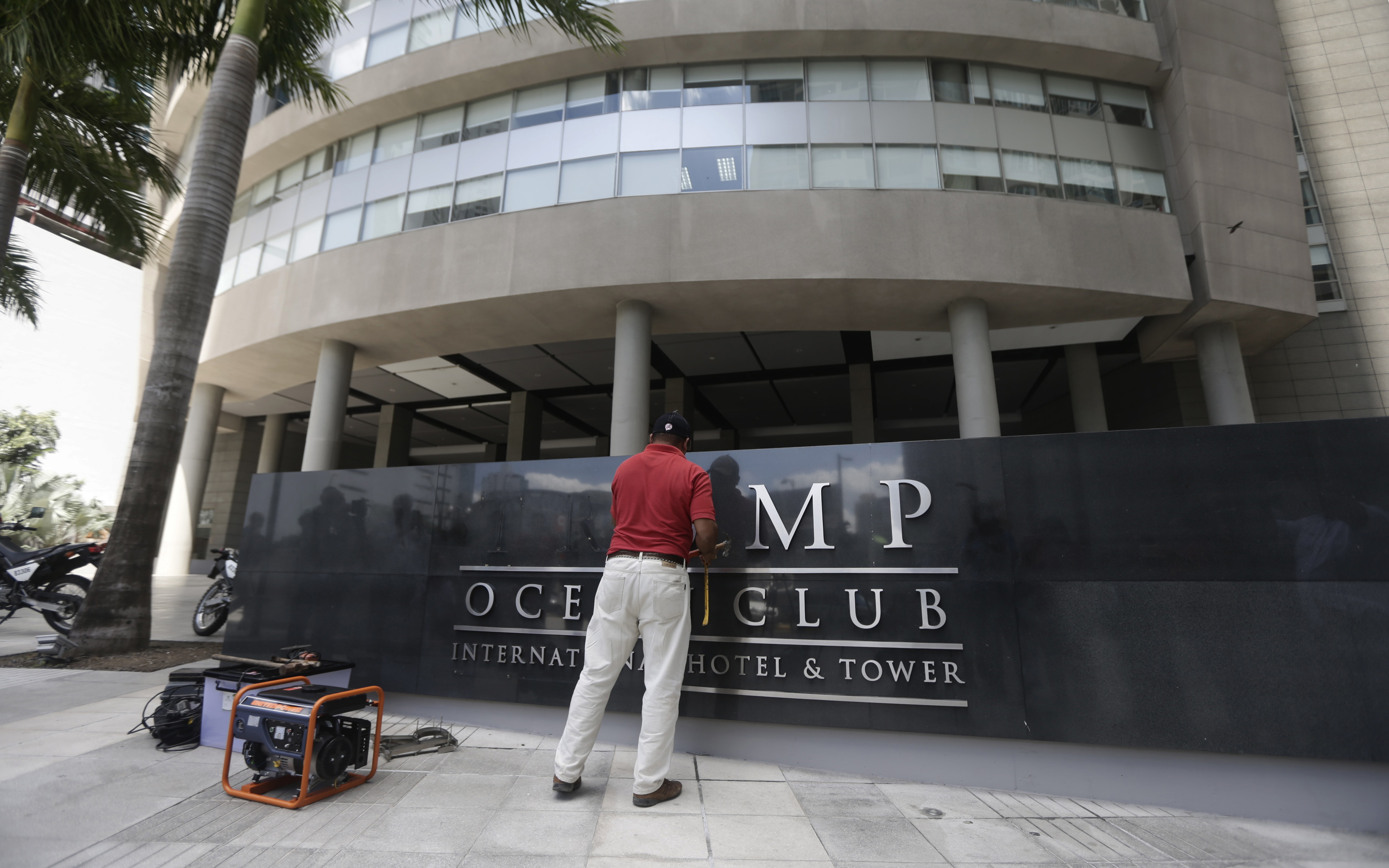 A Hotel in Panama Is the Latest to Remove Donald Trump's Name After His Election. Here Are the Others