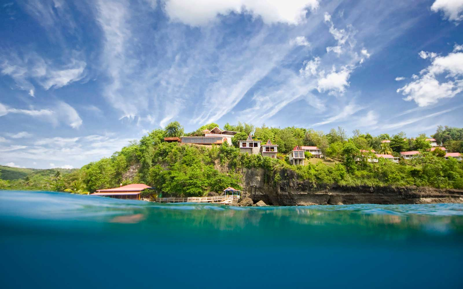Spend the Night in One of These Secluded Cliffside Cottages in St. Lucia for Only $281