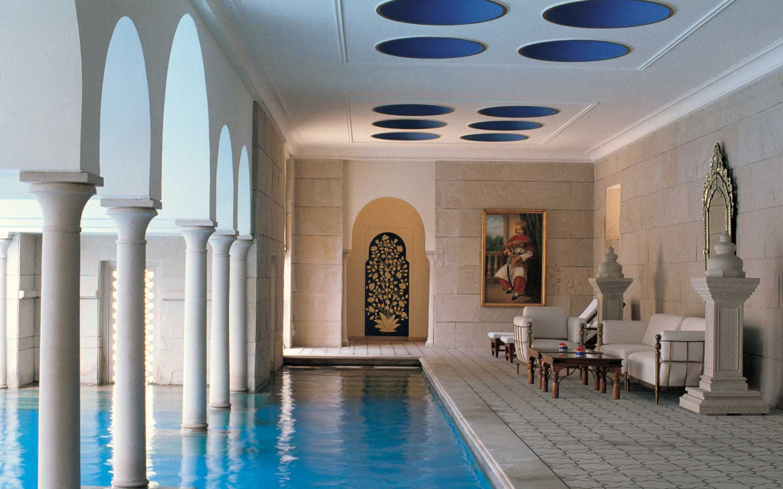 See the Taj Mahal Right from Your Room at the Oberoi Amarvilas, Agra