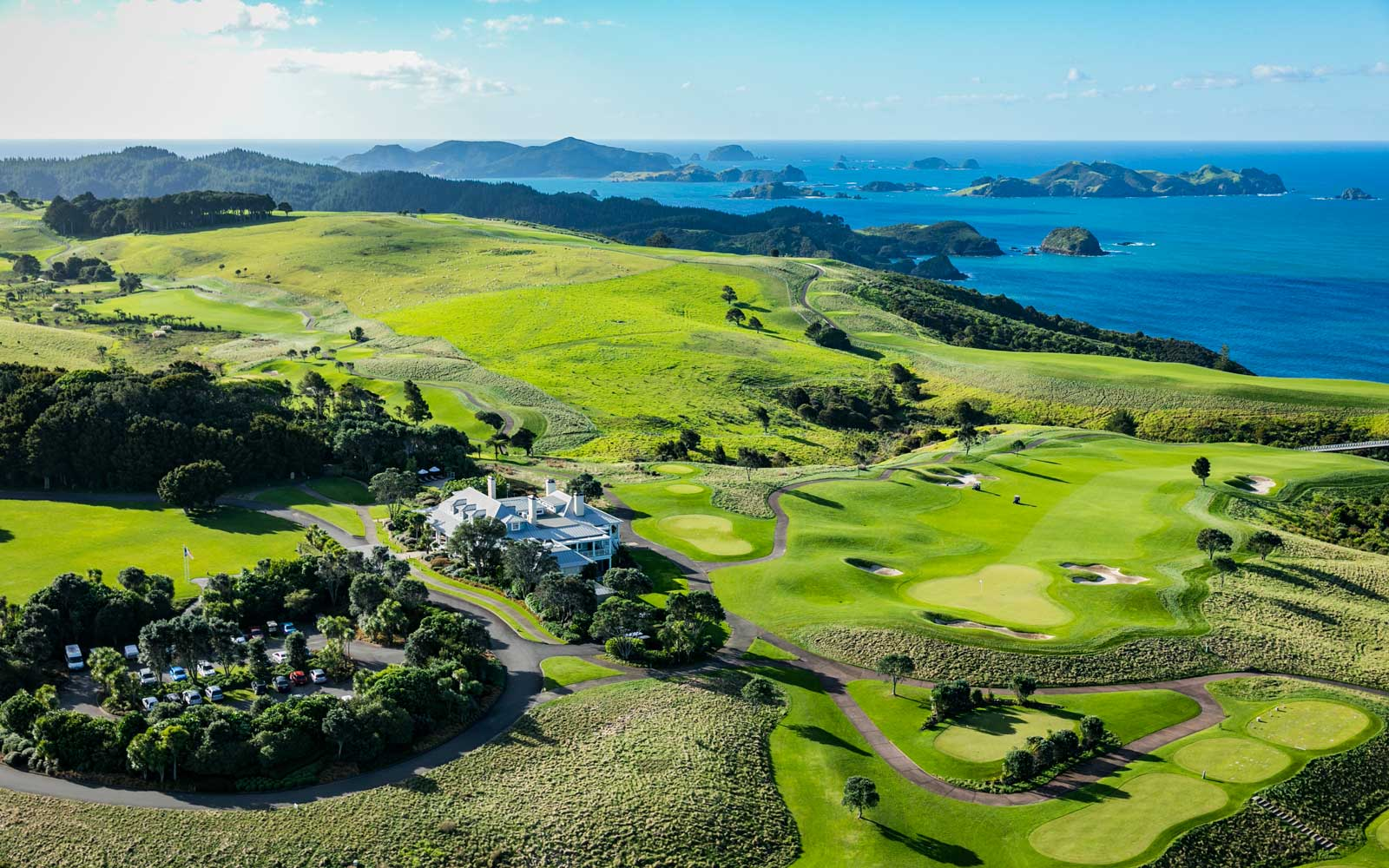 Save 33% on a Three-night Stay at the Lodge at Kauri Cliffs in New Zealand