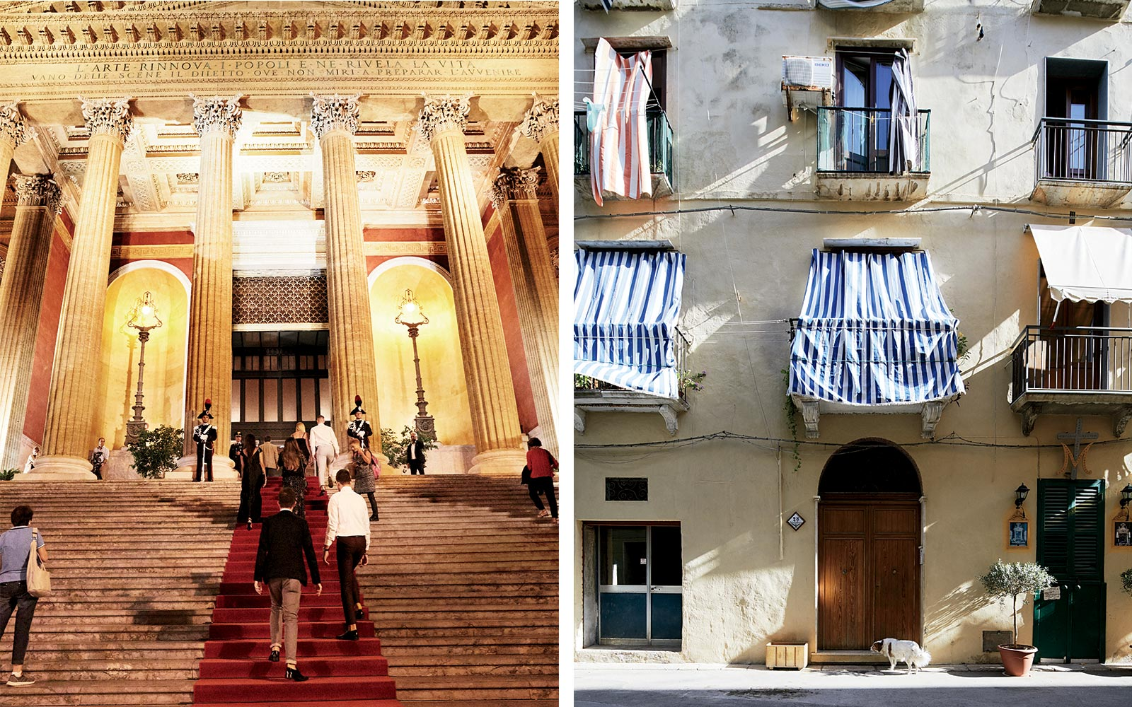Palermo opera and homes in Trapani, Sicily