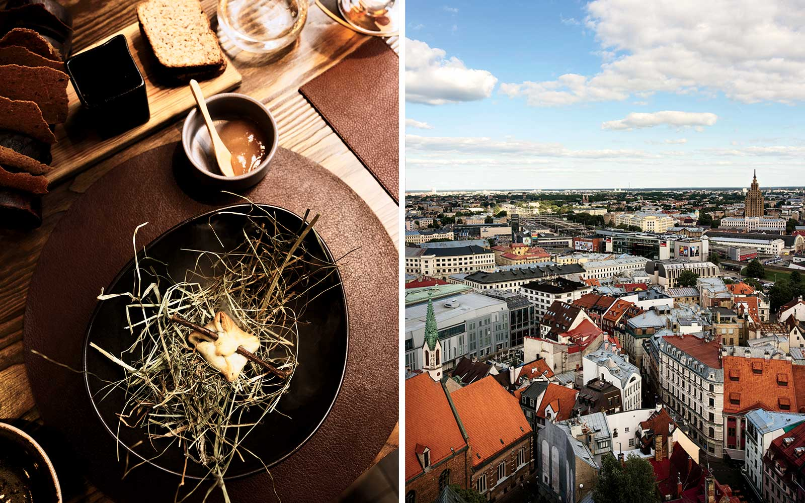 Dining and attractions in Riga, Latvia