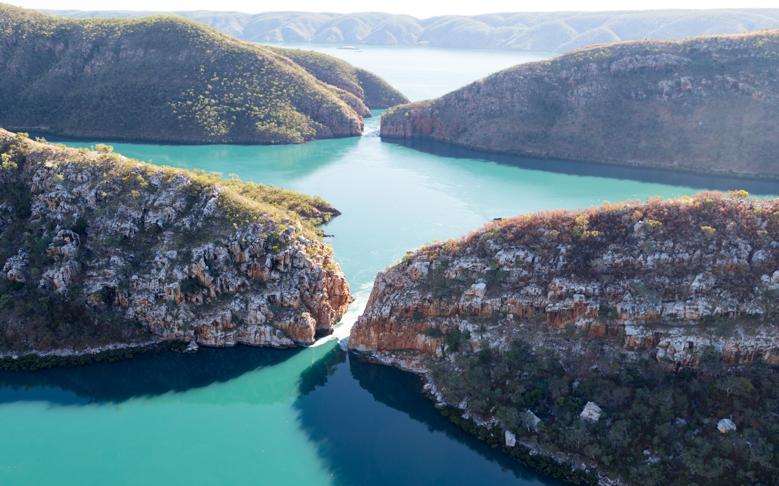 Horizontal Falls are described as 'One of the greatest wonders of the natural world'.