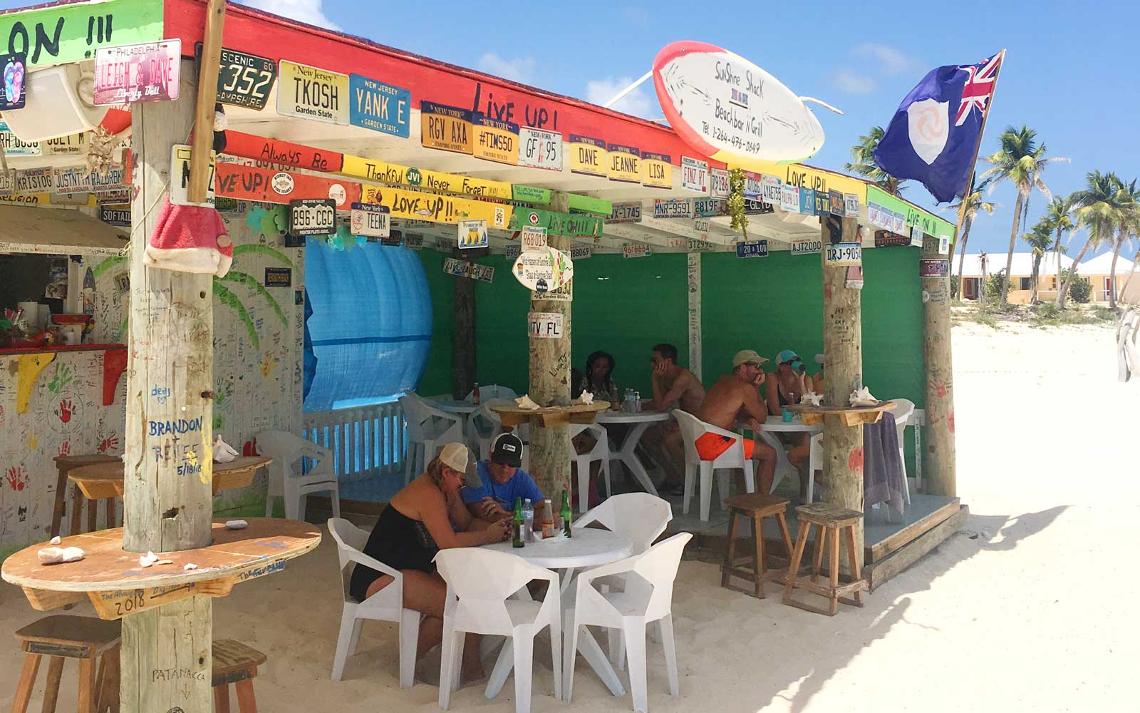Sunshine Shack seaside restaurant, Anguilla