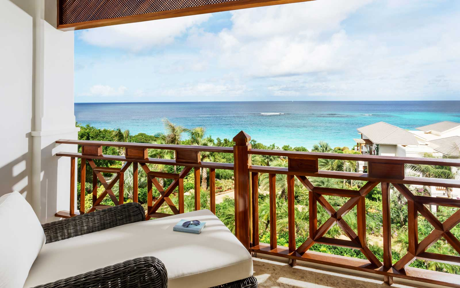 View from a room at the Zemi Beach House, in Anguilla