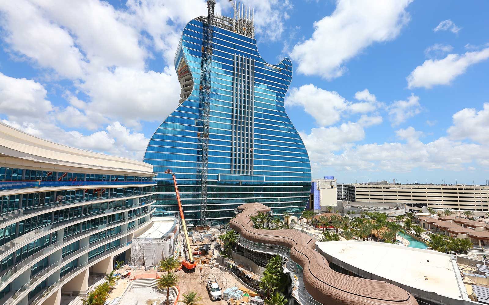 The World's First Guitar-shaped Hotel Is Now Accepting Reservations