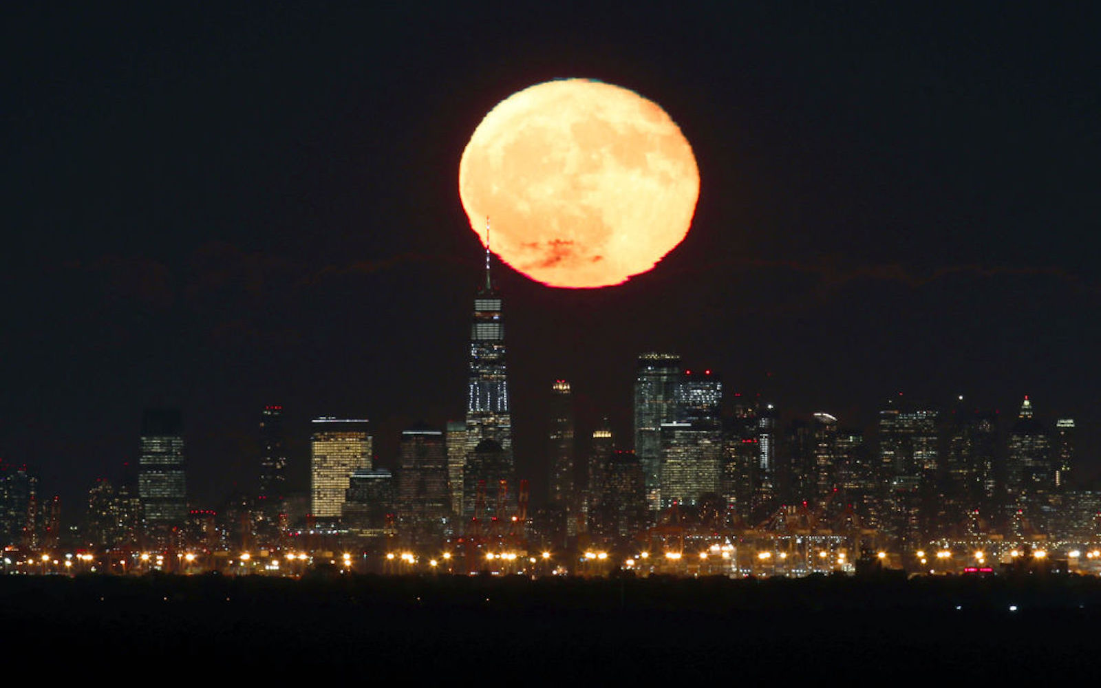 October's Full Hunter's Moon Rises Tonight — Here's the Best Time to See It in All Its Orange Glory