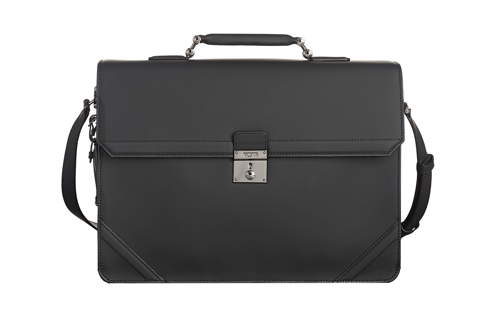 Palmer Flap Brief Leather