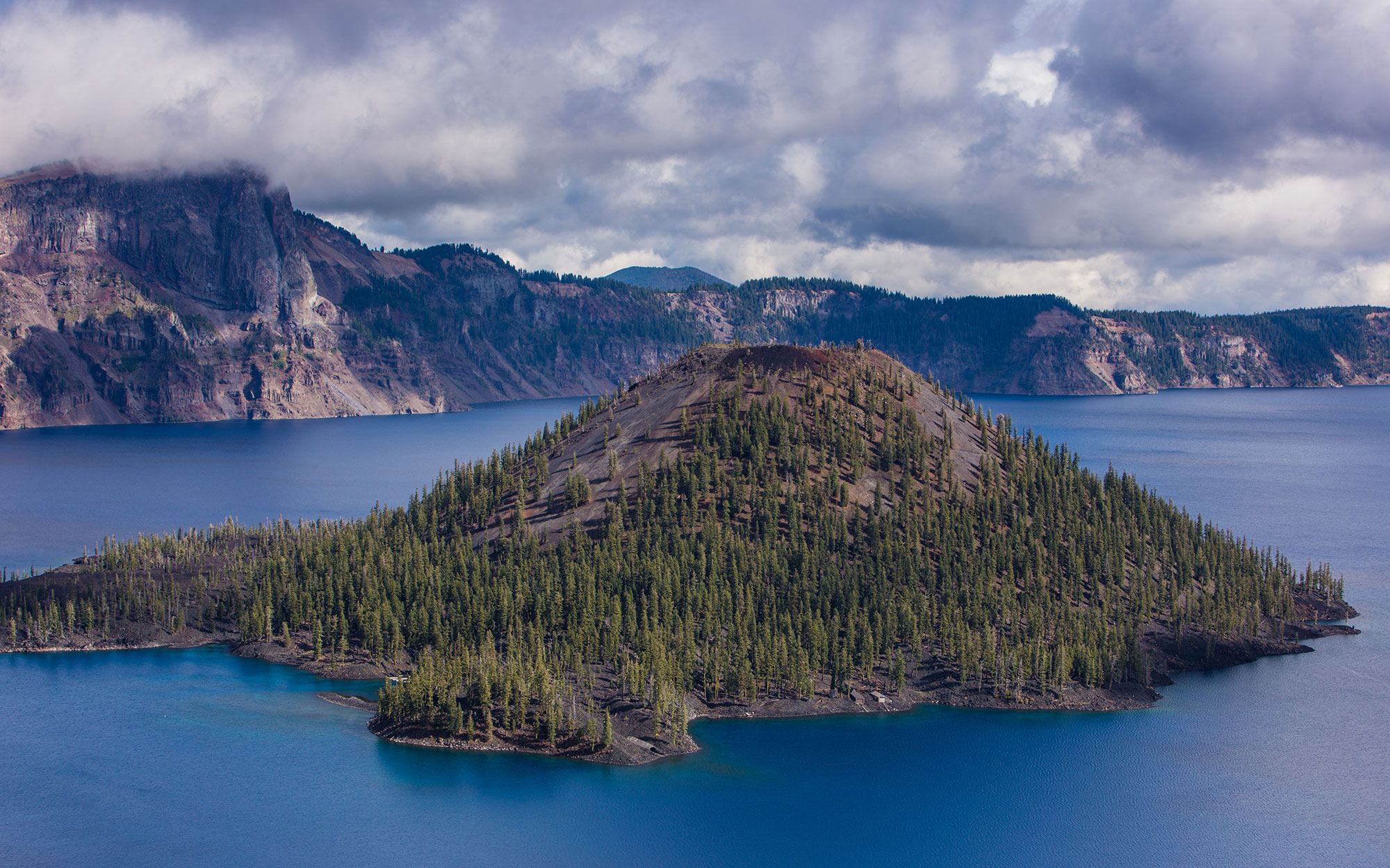 Near Death by Crater Lake