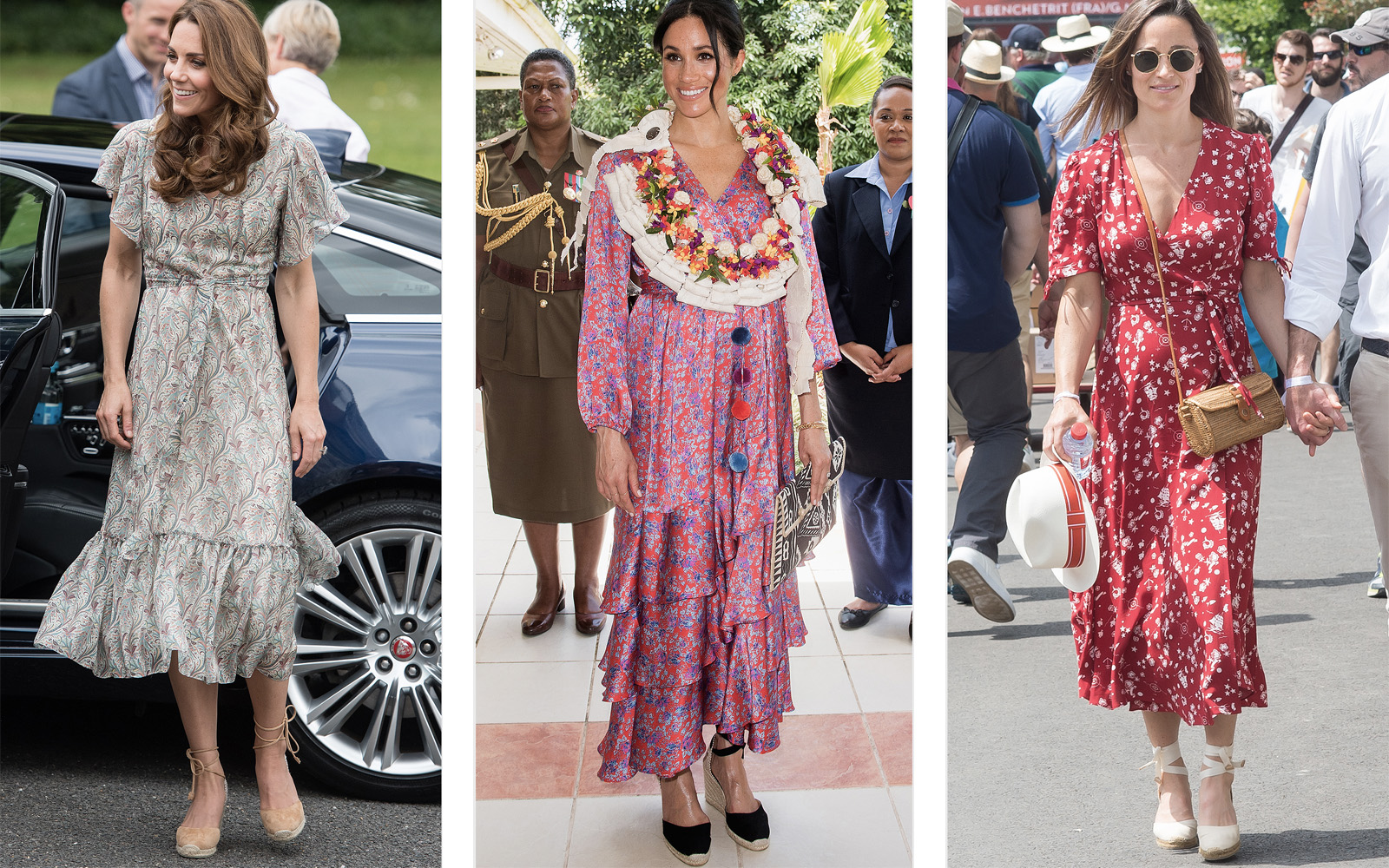 Kate Middleton and Meghan Markle Can't Stop Wearing This Summer's Hottest Wedges
