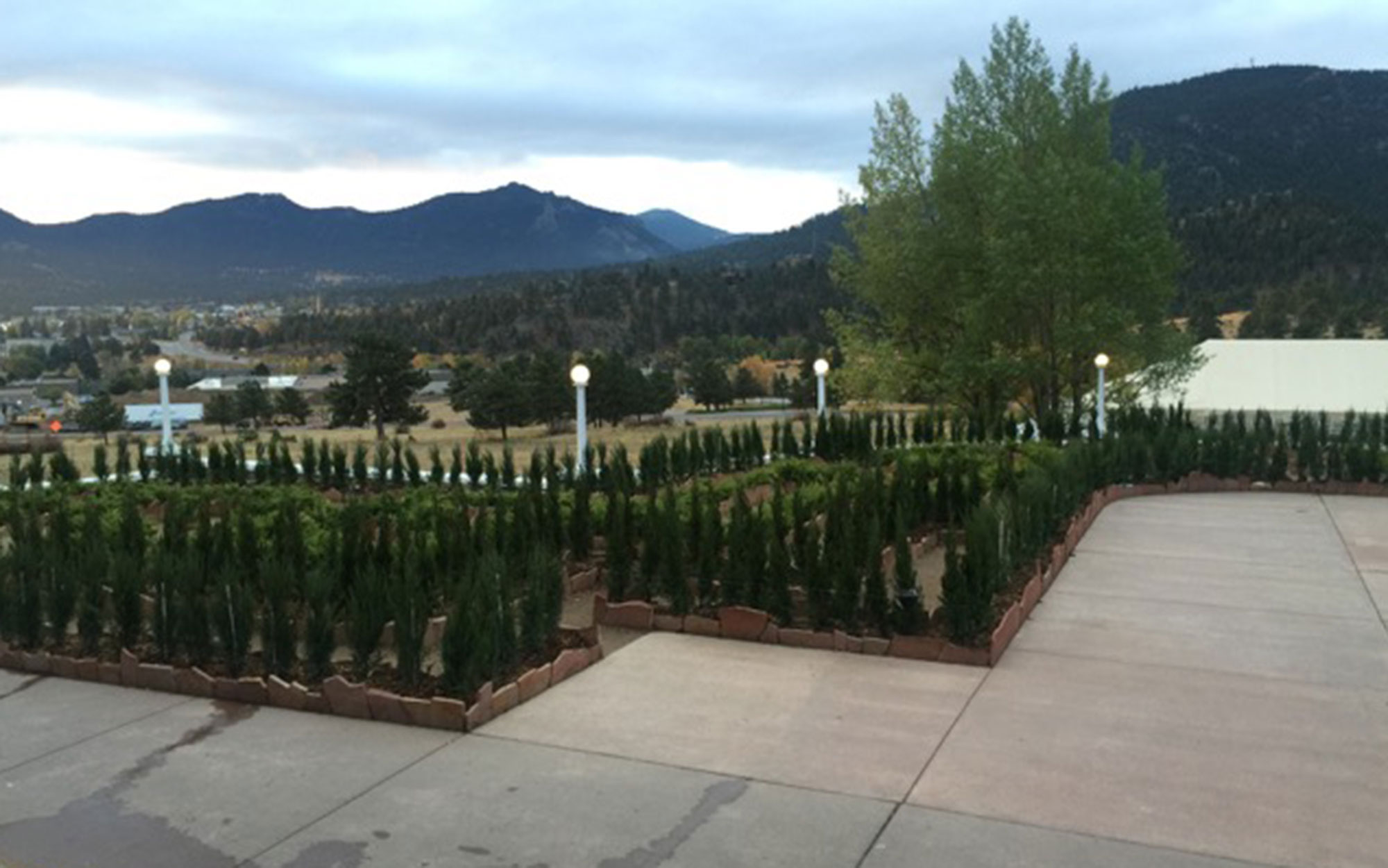 The Stanley Hotel's new hedge maze