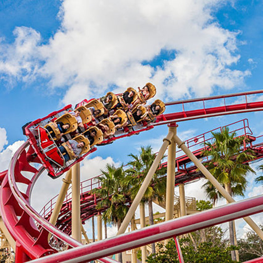 Top 5 Roller Coasters in Orlando
