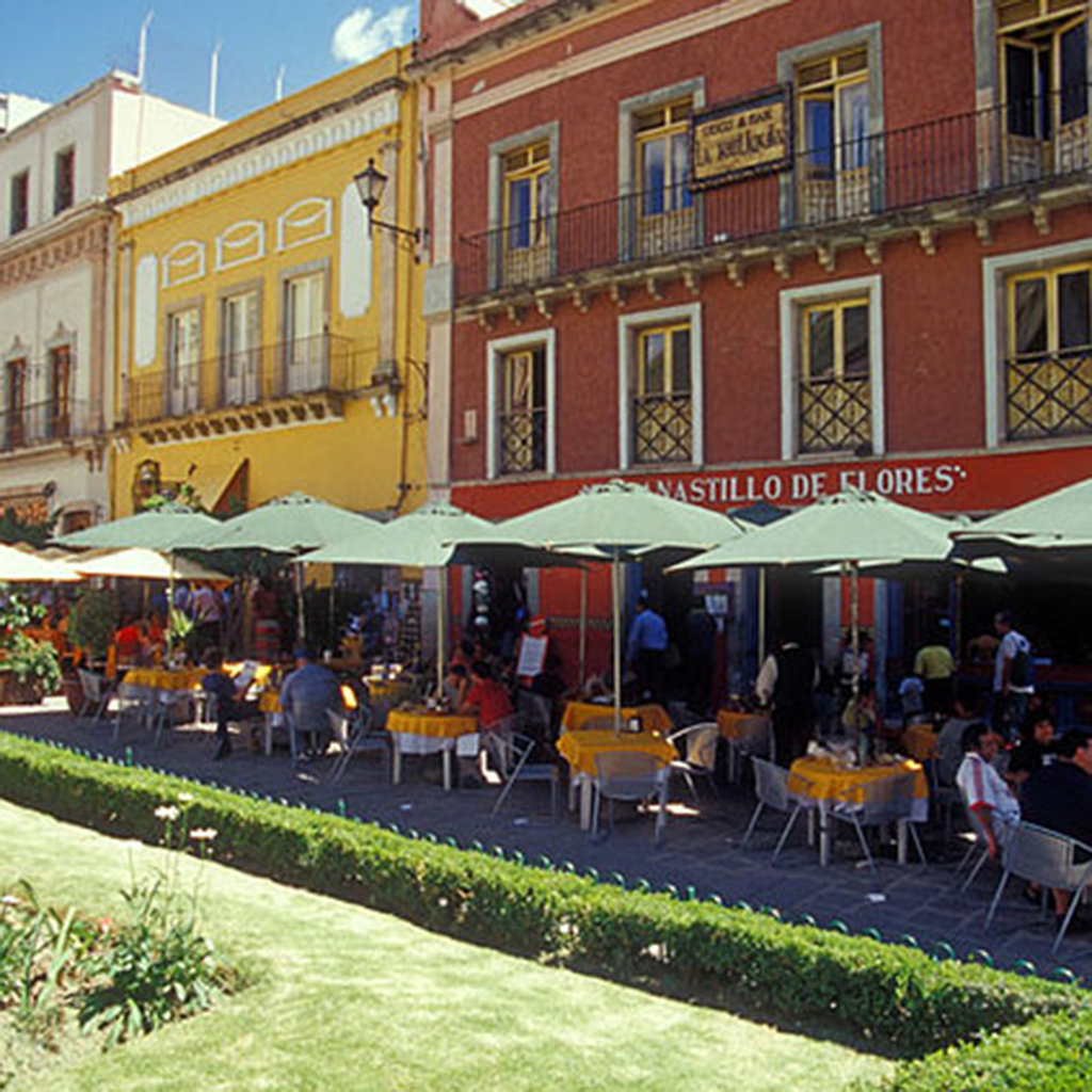 5 Best Spots for Outdoor Dining in Mexico City