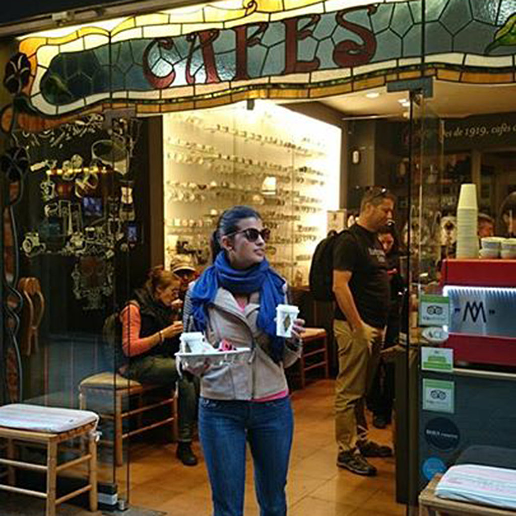 Best coffee shops in barcelona travel leisure best coffee shops in barcelona solutioingenieria Image collections