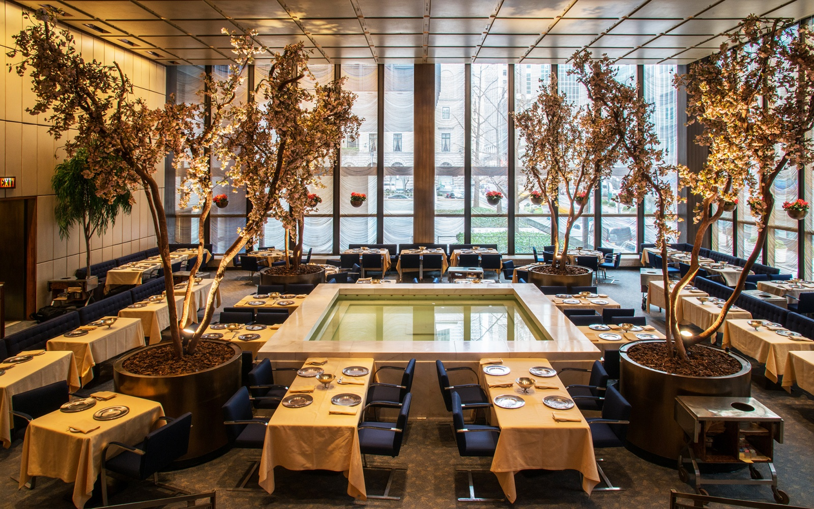 New york city s power lunch restaurants travel leisure