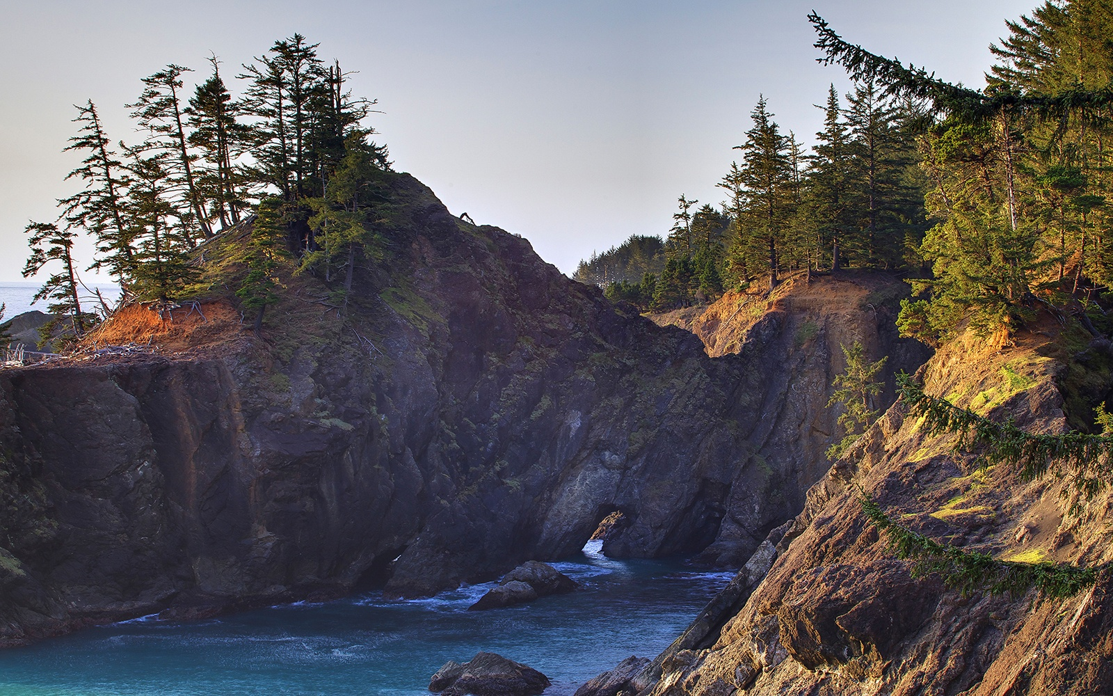 Cape Perpetua Campground, Siuslaw National Forest, Oregon