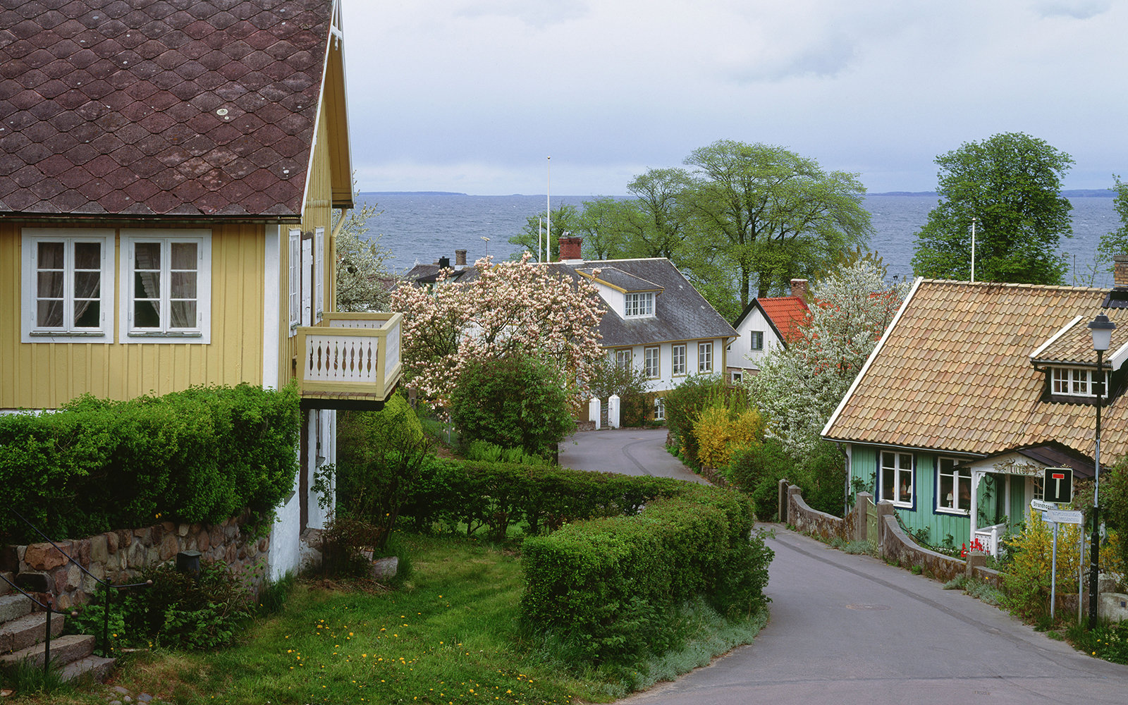 small European town in Arild, Sweden