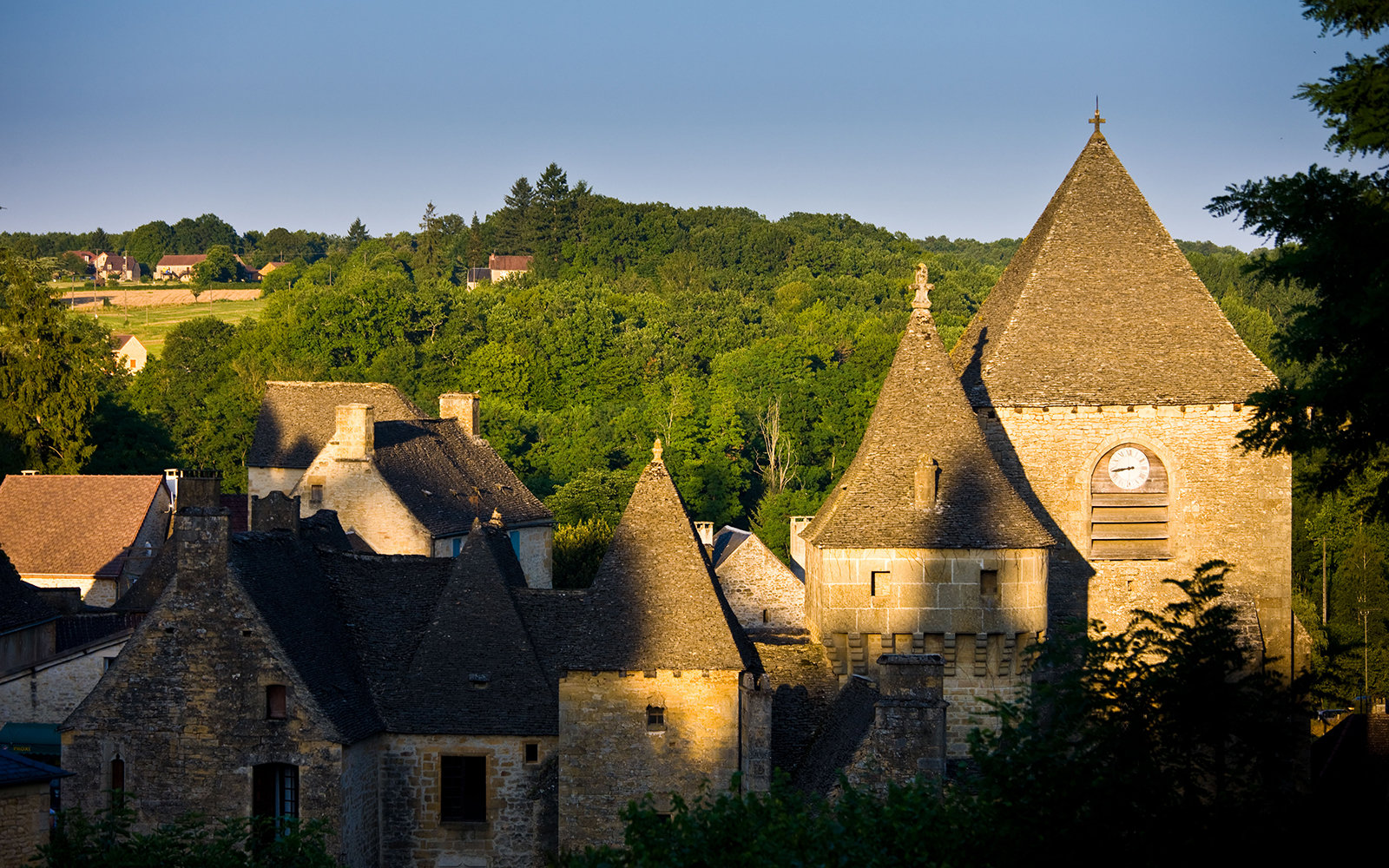 castle in St.-Geniès, France