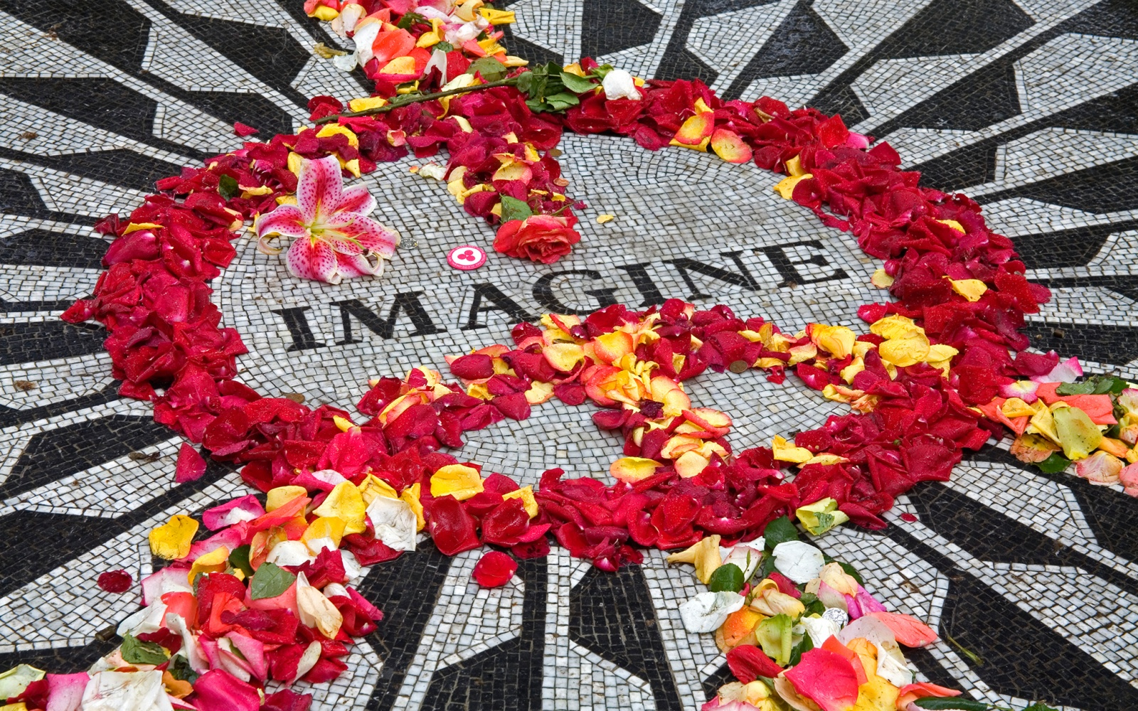 music, city, New York, New York City, John Lennon, Beatles, Central Park, Imagine, memorial