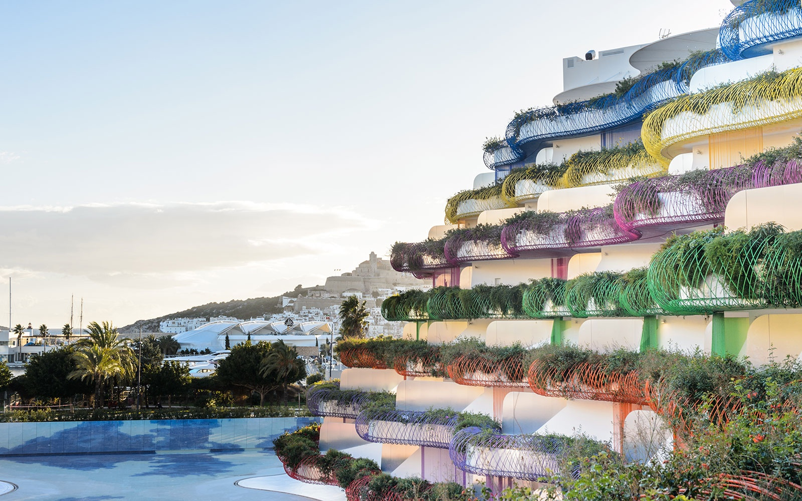 Candy-Colored Ibiza Apartment by Jean Nouvel